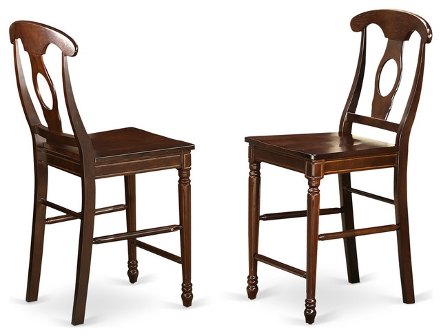 kenley dining chairs set of 2 mahogany