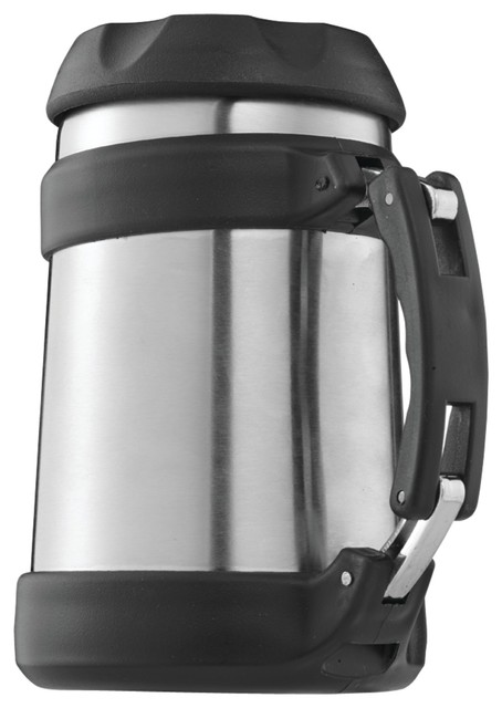 Brentwood 0.5 Liter Vacuum Double Wall Food Jar Stainless Steel.