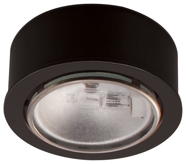 Halogen Low Voltage Button Puck Light - Contemporary - Undercabinet Lighting - by Pegasus Lighting