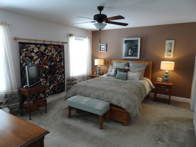 Hooksett nh over 55 staging american traditional for American classic bedroom