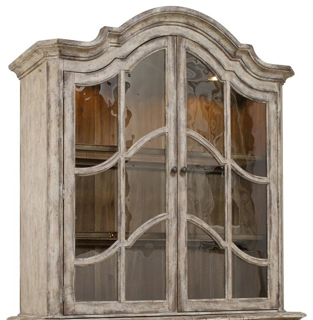 Hooker Furniture Chatelet Hutch - Farmhouse - China Cabinets And ...