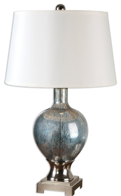 uttermost mafalda mercury glass table lamp - Mercury Glass Table Lamp