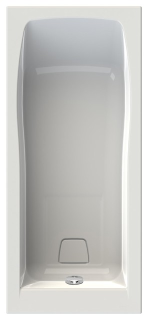 Cosmo Rectangular Bath With Shower Area, Small