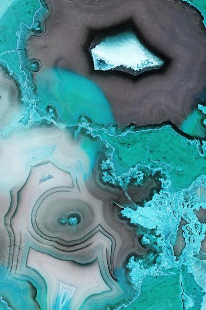 """turquoise"" Fine Art Canvas Print, 48""x72""."