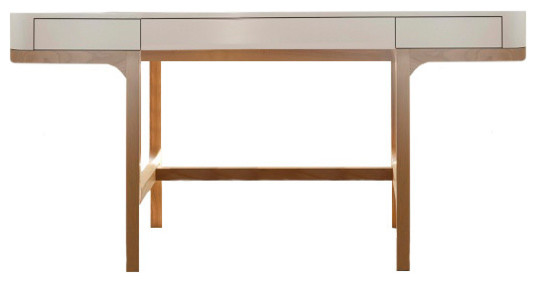 Scandinavian Style Desk ethan desk in modern style - scandinavian - desks and hutches -