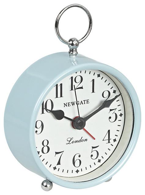 Decorative Bedroom Alarm Clocks: Newgate Gents Mini Alarm