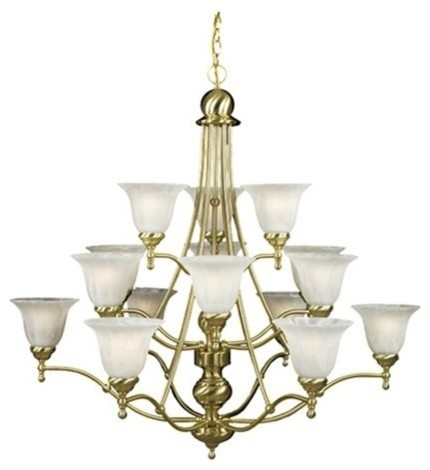 Quoizel Lighting 15 Light 3 Tier Amherst Collection