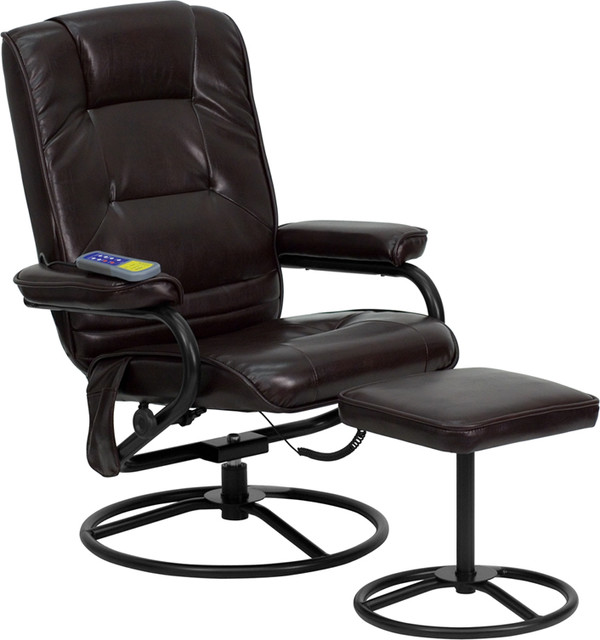 flash furniture recliners leather recliners - Black Leather Recliner Chair