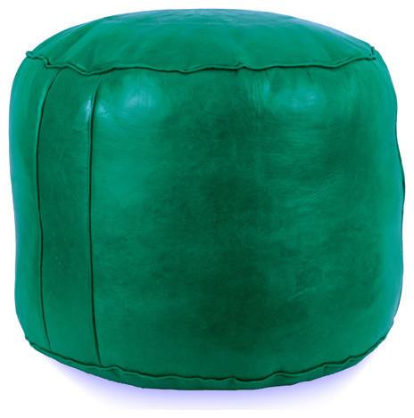 Tabouret Fez Poufs, Green, Tabouret