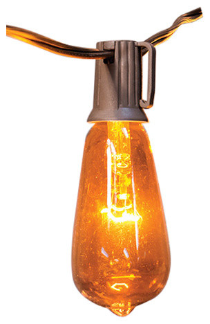 Orange Edison Bulb Light Strand, 10 Ct..