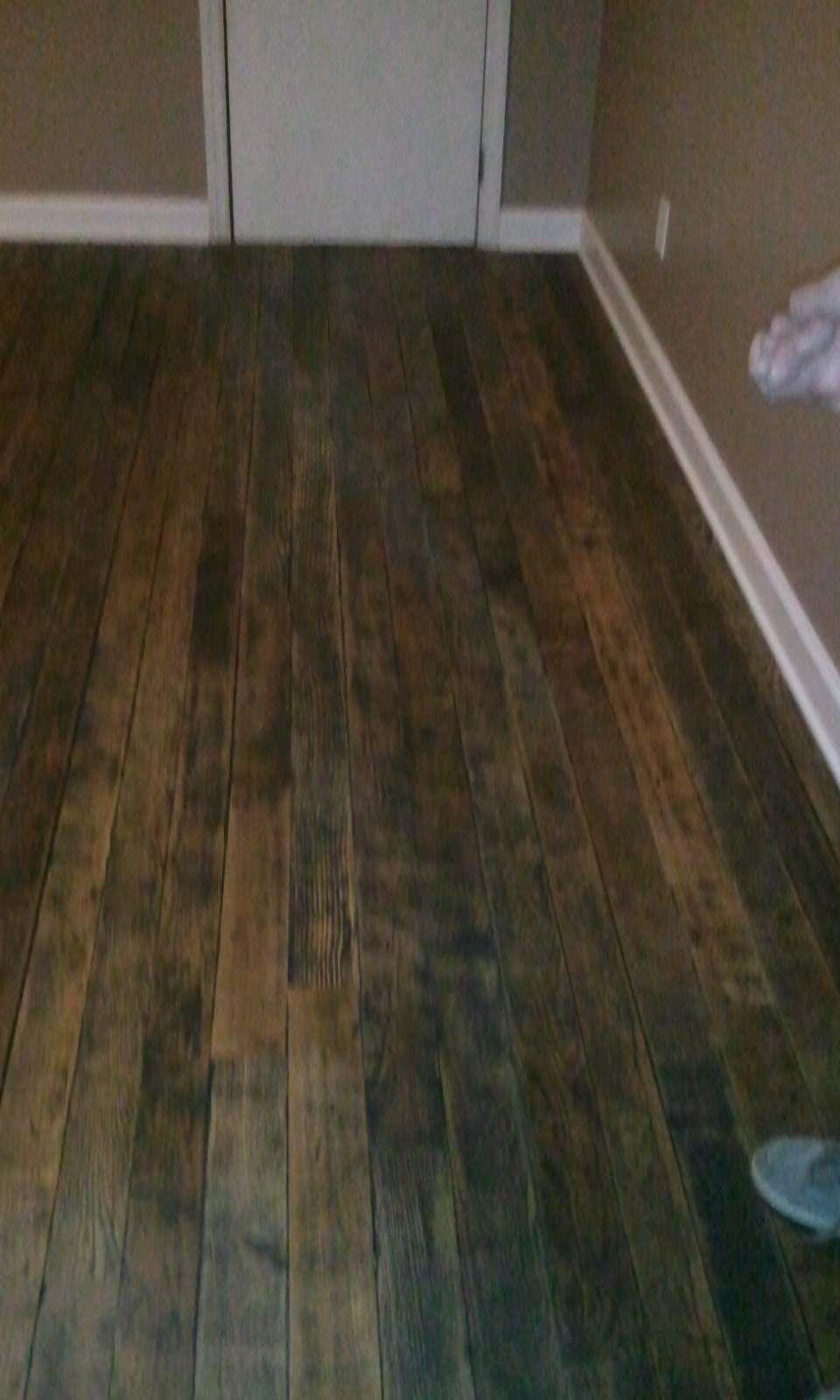 Reclaimed Wood Floor Installation