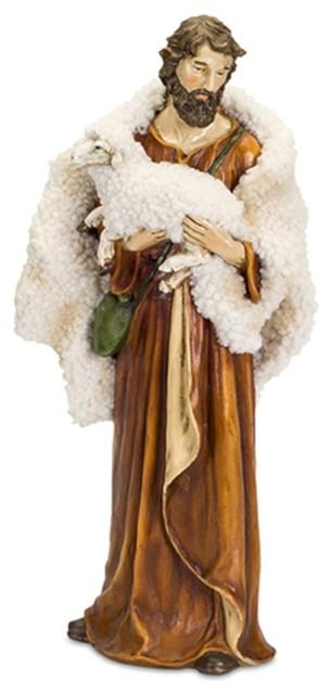 "Shepherd Statue, 19""."