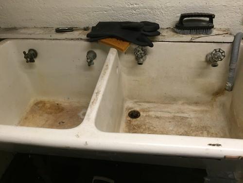 1930s double farmhouse sink  rh   houzz com