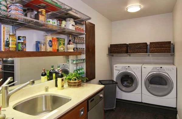 Combination Backup Kitchen Pantry Laundry Eclectic