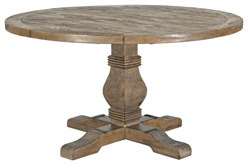 Caleb Round Dining Table, Desert