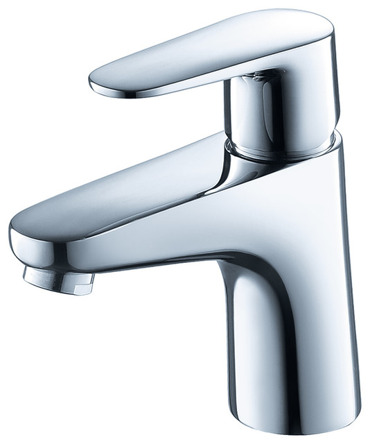Fresca Diveria Single Hole Mount Bathroom Vanity Faucet Chrome Contemporary Sink Faucets By First Look Bath
