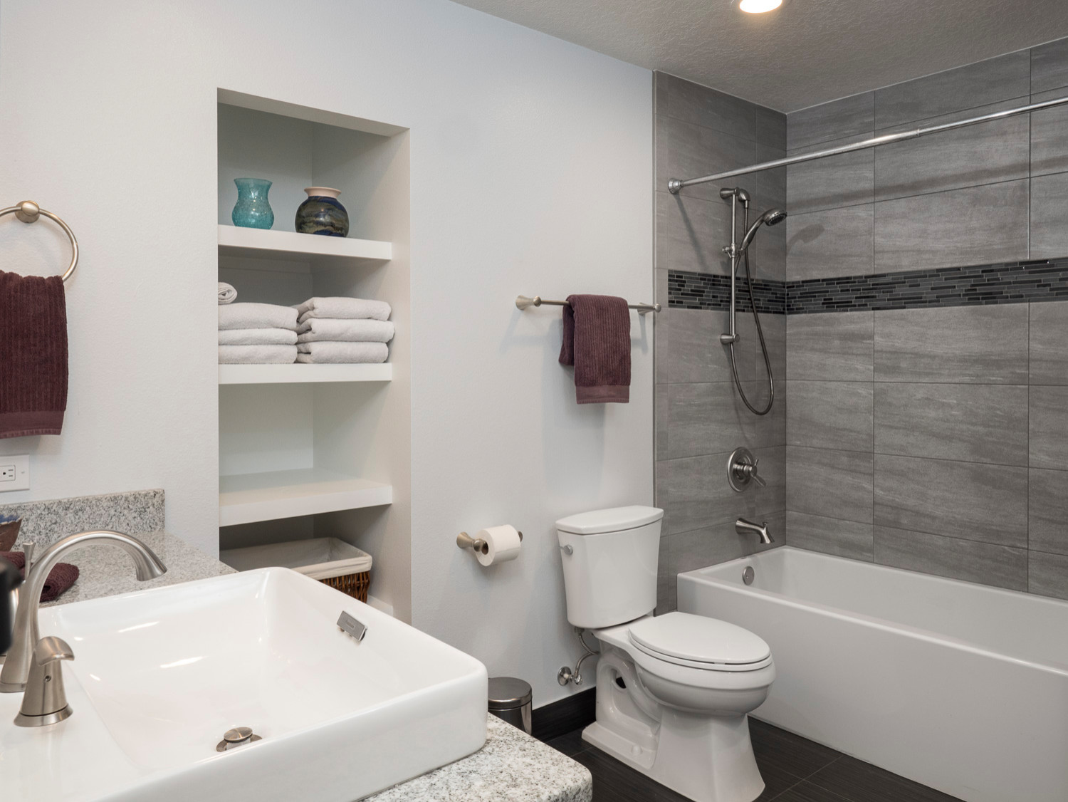 Madera Bathroom and Laundry Room Renovation Gainesville, Florida