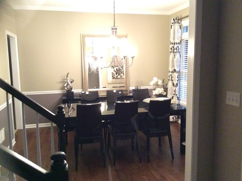 How To Mix Silver, Black And Gold In Dining Room!! Help!!