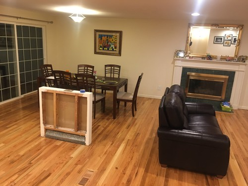 Help with living room and dining room design