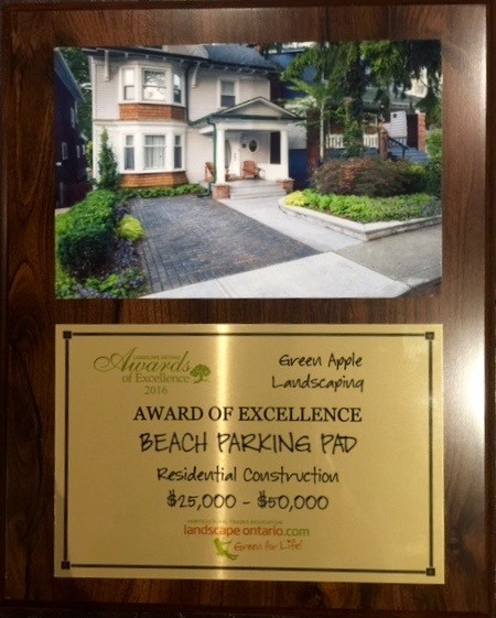 Beach Front Yard Parking Pad Makeover