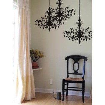 blik Chandelier Wall Stickers