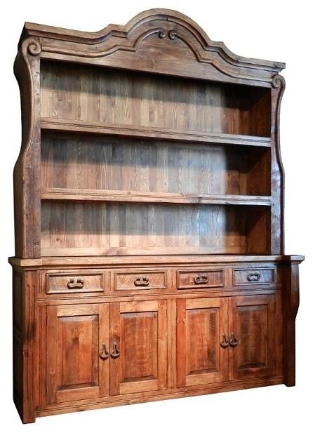 Reclaimed Wood Back Bar 100 Year Old Wood Handmade