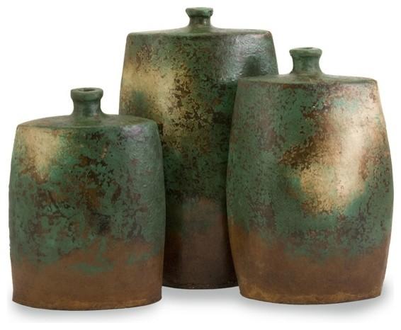 Imax 4000 3 Mazatlan Angular Vases Set Of 3 Vases By Lighting