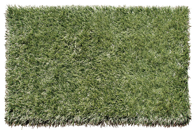 Grazin in the Grass Rug Contemporary Outdoor Rugs