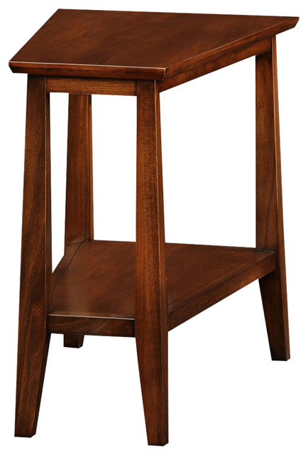Sienna Recliner Wedge Table Traditional Side Tables  : traditional side tables and end tables from www.houzz.com size 434 x 640 jpeg 53kB
