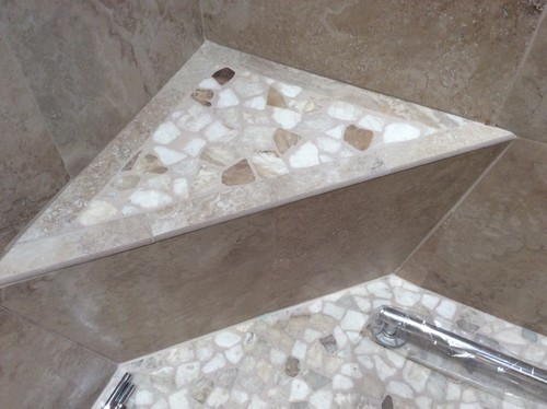 New Stone Shower Floor   Seal Or Not To Seal?