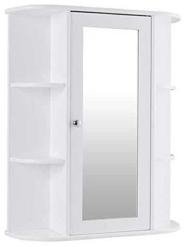 White Bathroom Wall Mounted Medicine
