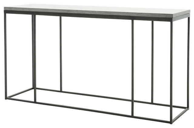 Hughes Harlow Console Table Industrial Console Tables