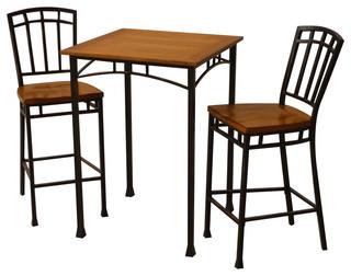 Modern Craftsman 3 Piece Bistro Set   Craftsman   Indoor Pub And Bistro Sets    By Home Styles Furniture