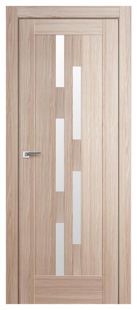 Milano 30x Appuccino Crosscut Interior Door Transitional