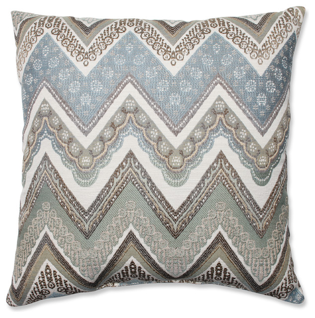 """Cottage Mineral 18"""" Throw Pillow."""