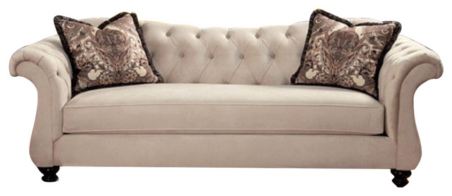 Stylish Sofa With Pillows.