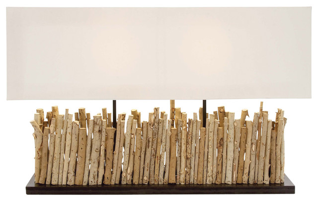 Driftwood Twig Table Lamp