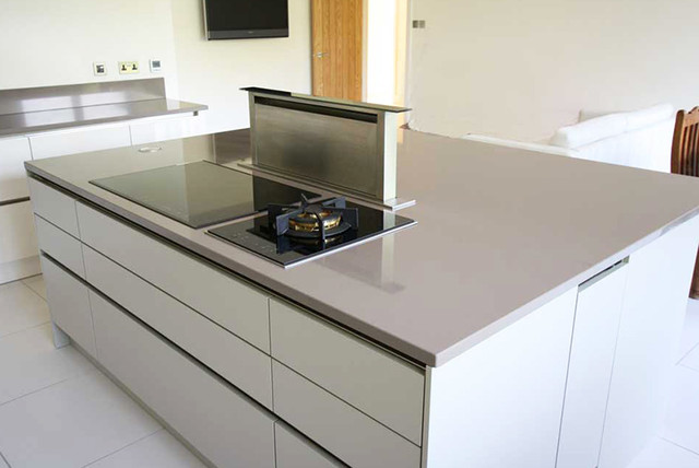 Kitchen Island Extractor kitchen island pop up extractor - contemporary - london -lwk