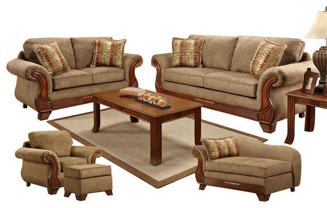 traditional furniture stores chelsea home shannen 5 living room set in radar 13574