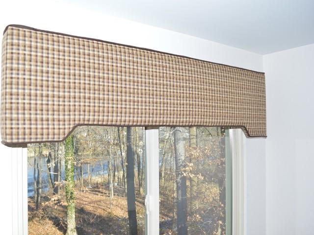 one step custom cornice board with contrast cording baltimore md - Cornice Board