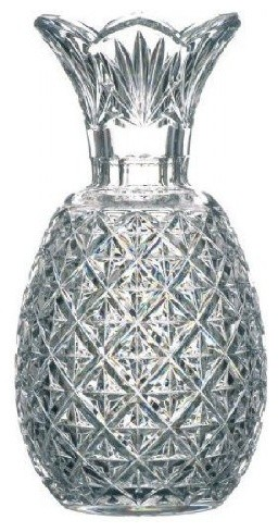 Waterford Crystal Hospitality Pineapple Vase 12 Tall Collectible
