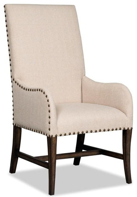 Dining Arm Chairs hooker niche desert upholstered dining arm chair, davalle