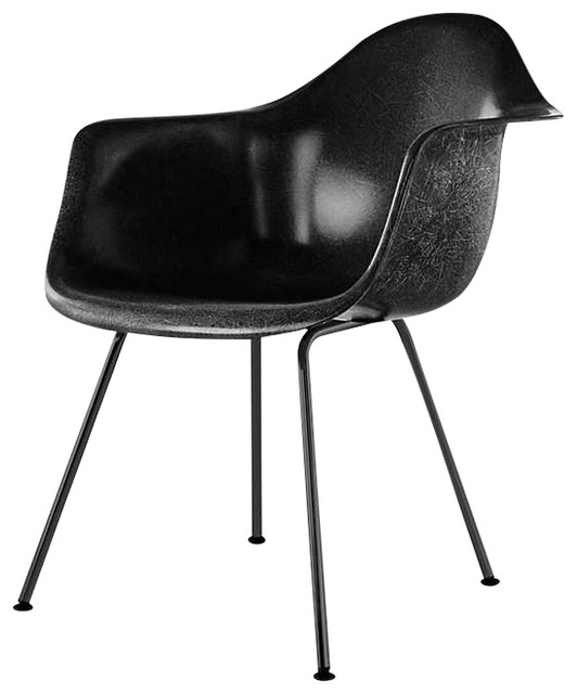 Eames Molded Fiberglass Armchair, 4-Leg Base by Herman ...