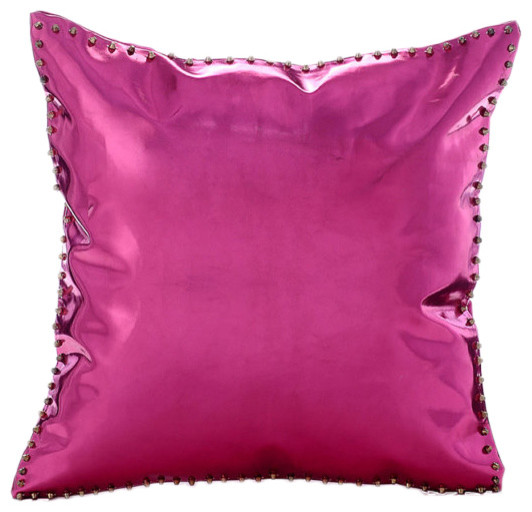 throw pillows chenille htm arizona pink pillow from p decor