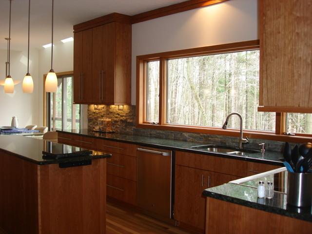 Window Wall Modern Kitchen