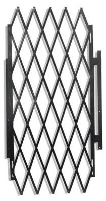 Grisham 48 In Security Expandable Gate Black 90002