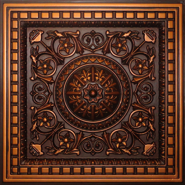 D215 Pvc Decorative Coffered Ceiling Tiles Qty Of 6