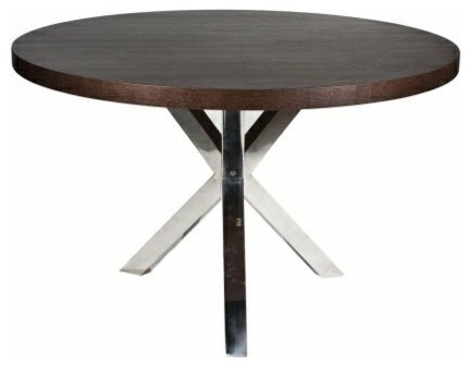 Remi Round Dining Table Contemporary Dining Tables