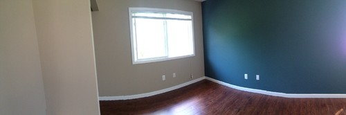 Green Accent Wall hunter green accent walls?!?