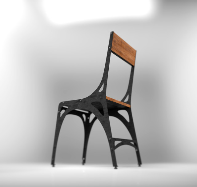 Mark 1 chair industrial dining chairs toronto by for Industrial design chair